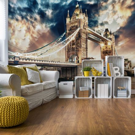 London Tower Bridge wall mural wallpaper